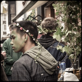 2016 Jack in the Green Asian Guy Flower Crown small