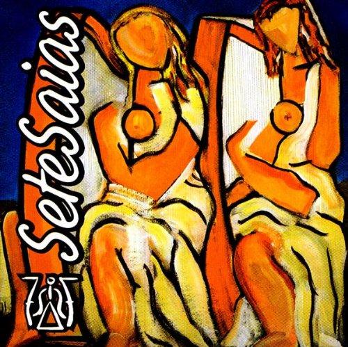 Portada CD Sete Saias de Arpa - Folk Celta