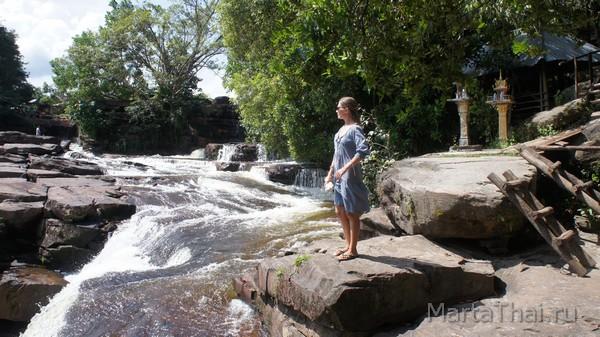 Водопад Кбал Чхай, Сиануквиль