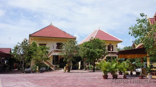 Буддийская пагода, Сиануквиль, Камбоджа