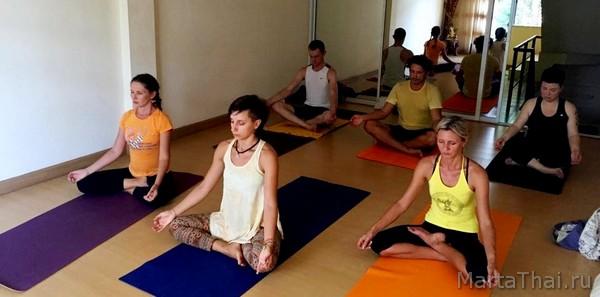 йога в Паттайе, йога тур