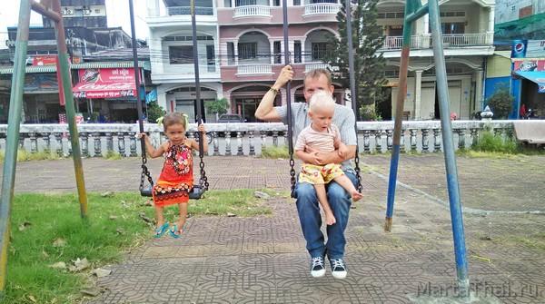Камбоджа с детьми, Сиануквиль