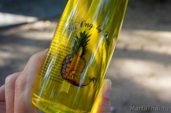 мой любимый ананасовый шампунь из Таиланда