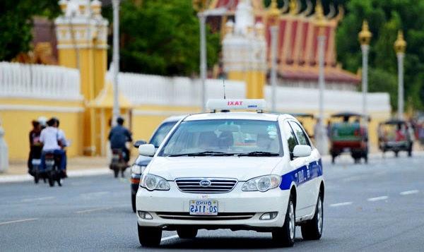 такси и трансфер в камбодже