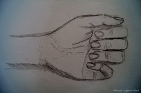 Studium dłoń 2