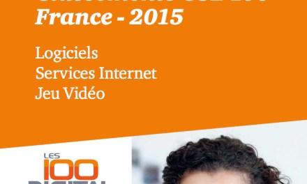 Étude : le top 100 des éditeurs du digital en France