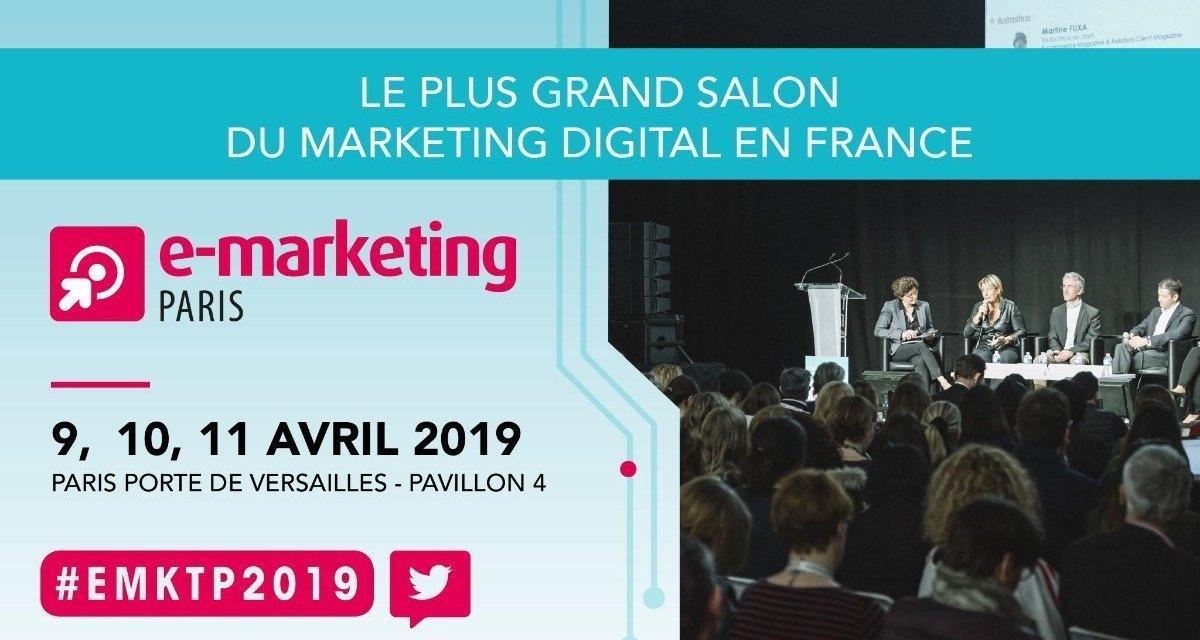 Save the date : salon e-marketing paris 2019