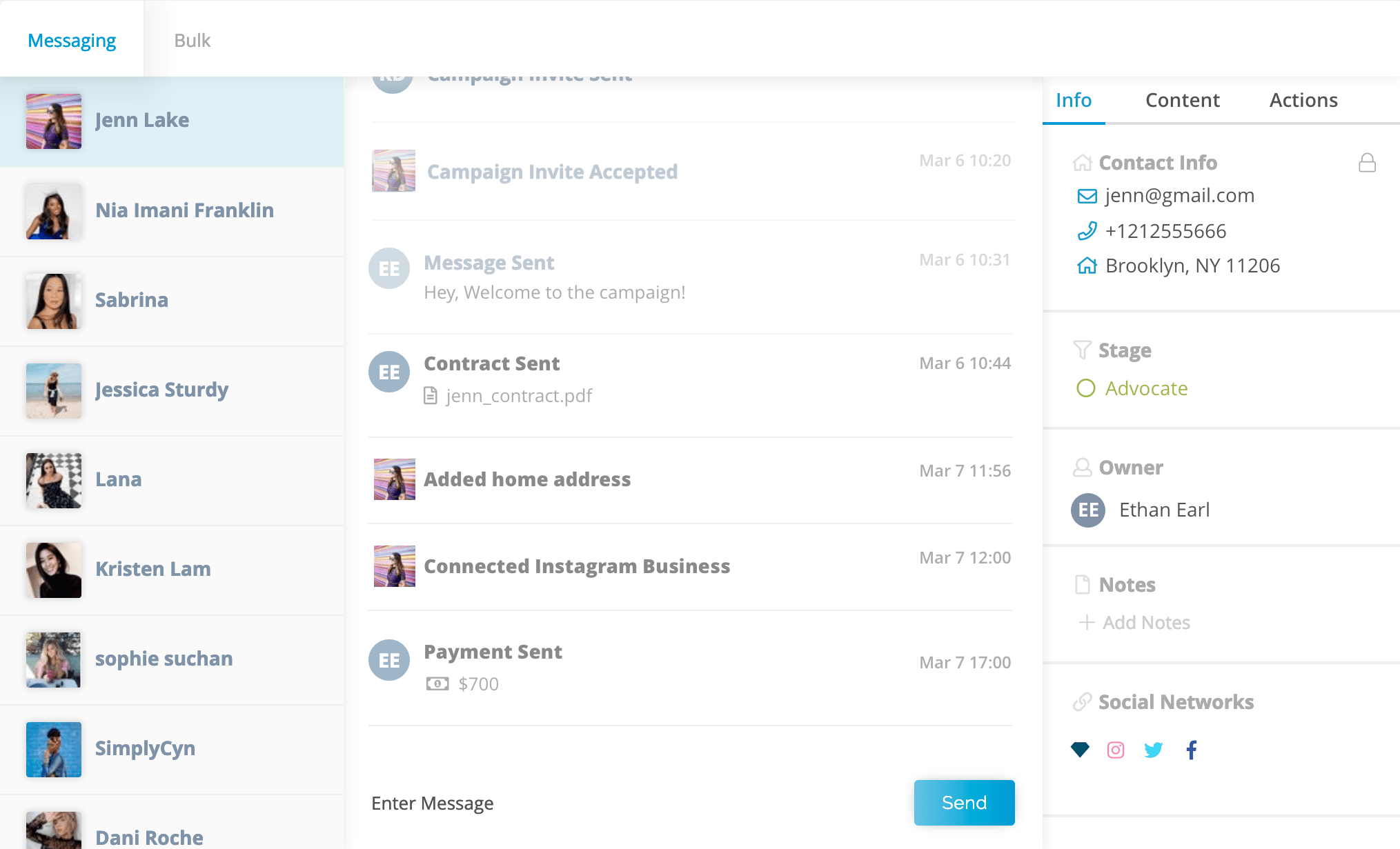 Klear Connect: Influencer Marketing CRM and Campaign Tracking