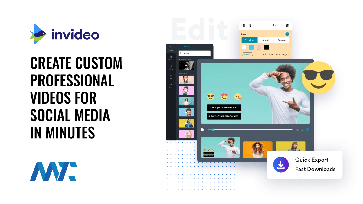 InVideo: Create Custom Professional Videos For Social Media Within Minutes