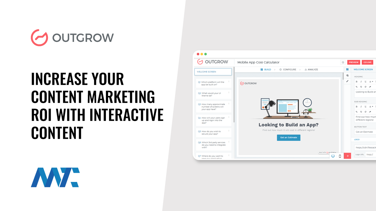 Outgrow: Increase Your Content Marketing ROI with Interactive Content
