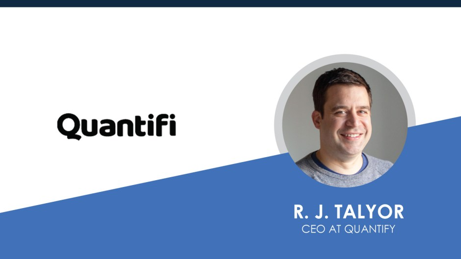 Fireside Chat with R. J. Talyor, CEO at Quantifi