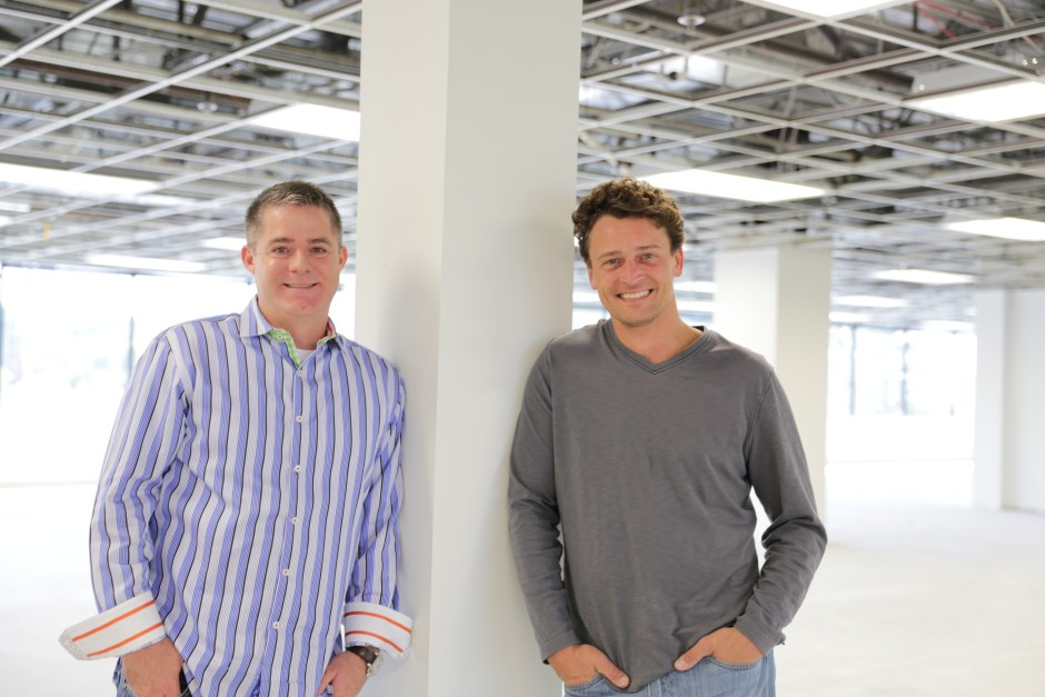 Me with CEO and Co-Founder, Christopher Day