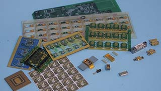 semiconductor microelectronics parts