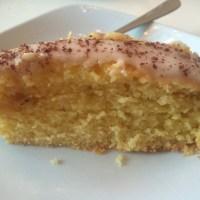 Saftig kake med appelsin.