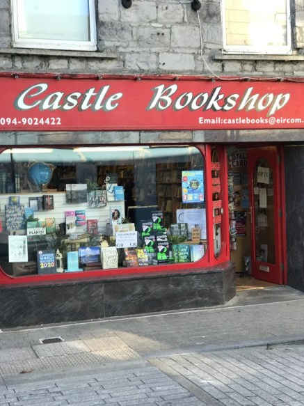 Castle Bookshop Front Window and Entrance