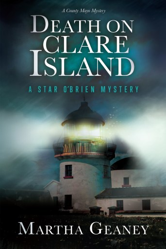 Image of the front cover of the mystery book: Death on Clare Island