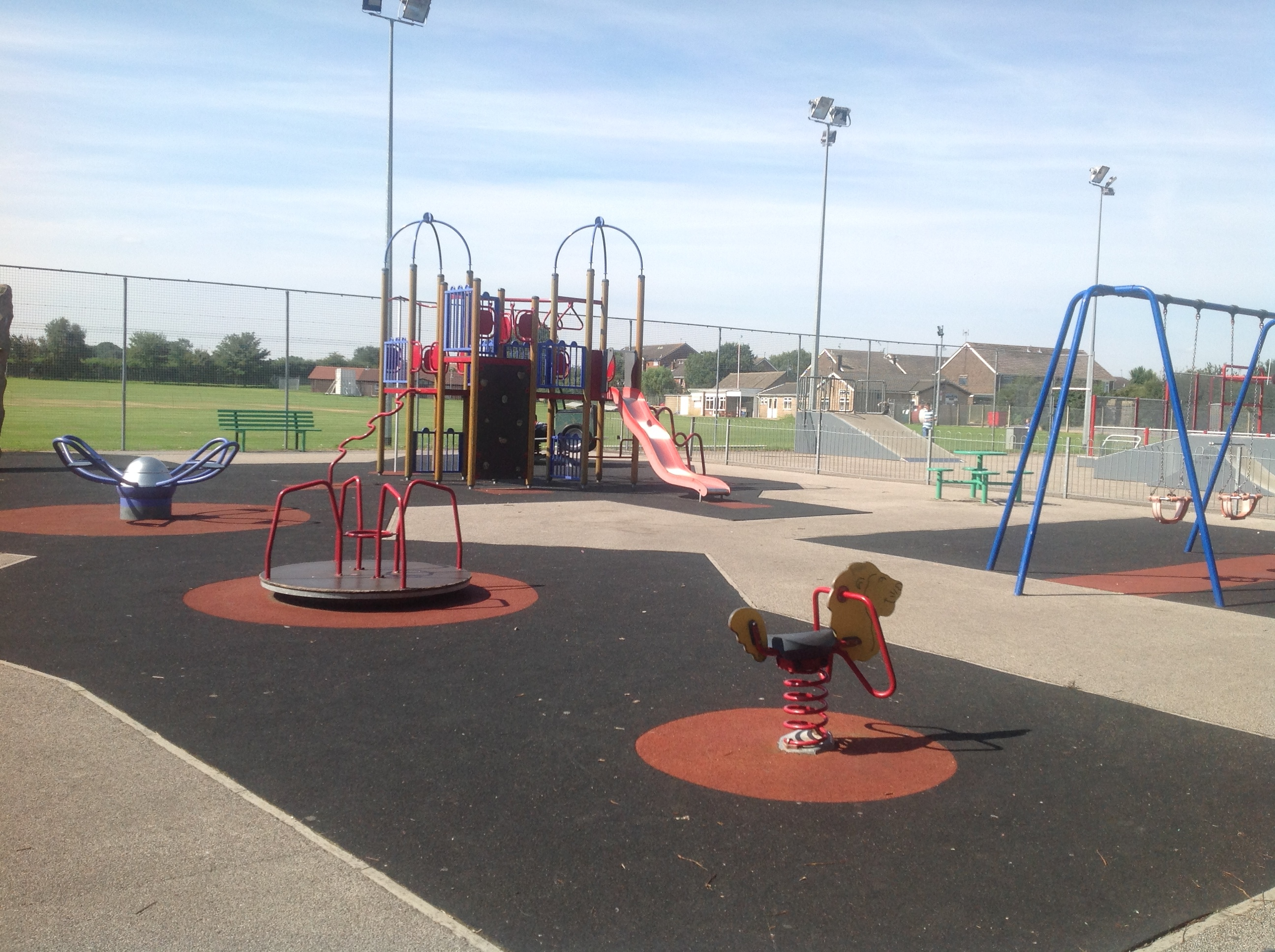 New children's playground