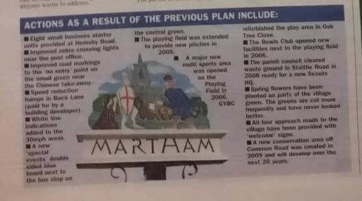Actions of last Community Led Plan | Courtesy of Great Yarmouth Mercury