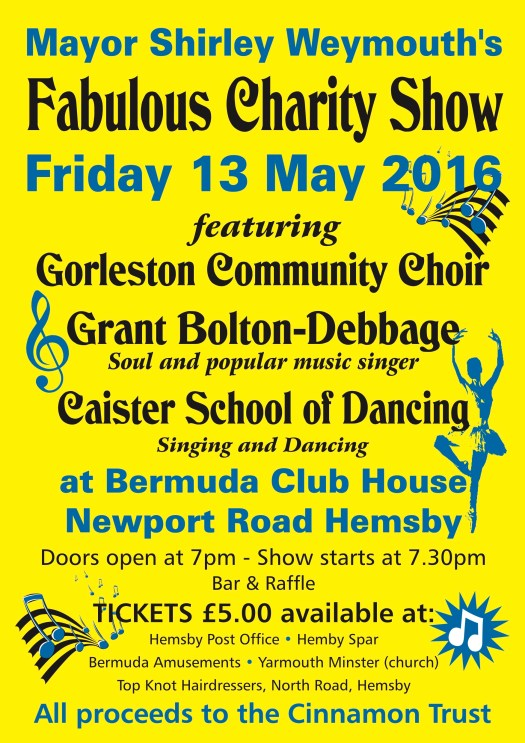 Fabulous charity show 4.16
