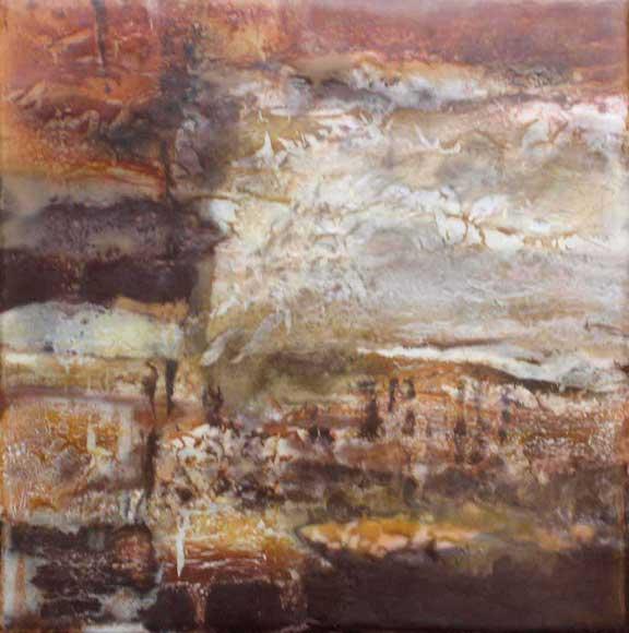 "Canyon Walls Series-Canyon Textures  12"" x 12"""