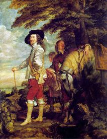 Anthony Van Dyke, Charles I at the Hunt