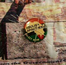 Martha Ressler Celebrating the Destruction of Apartheid, Detail