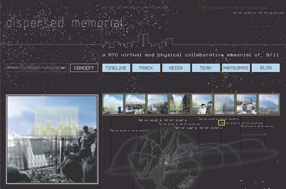 dispersed memorial