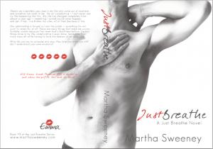 Just Breathe by Martha Sweeney official book cover