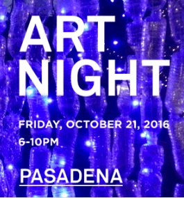 Pasadena Art Night 2016
