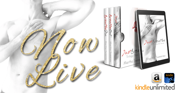 Just Breathe (Just Breathe #3) is NOW LIVE