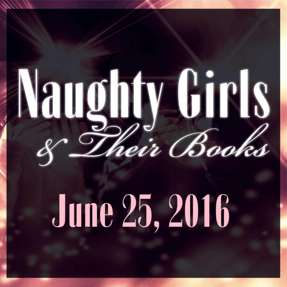 Martha Sweeney at Naughty Girls & Their Books Book Signing
