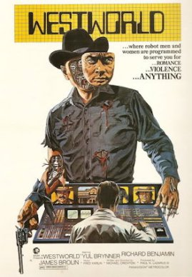 The original Westworld film poster from 1973.