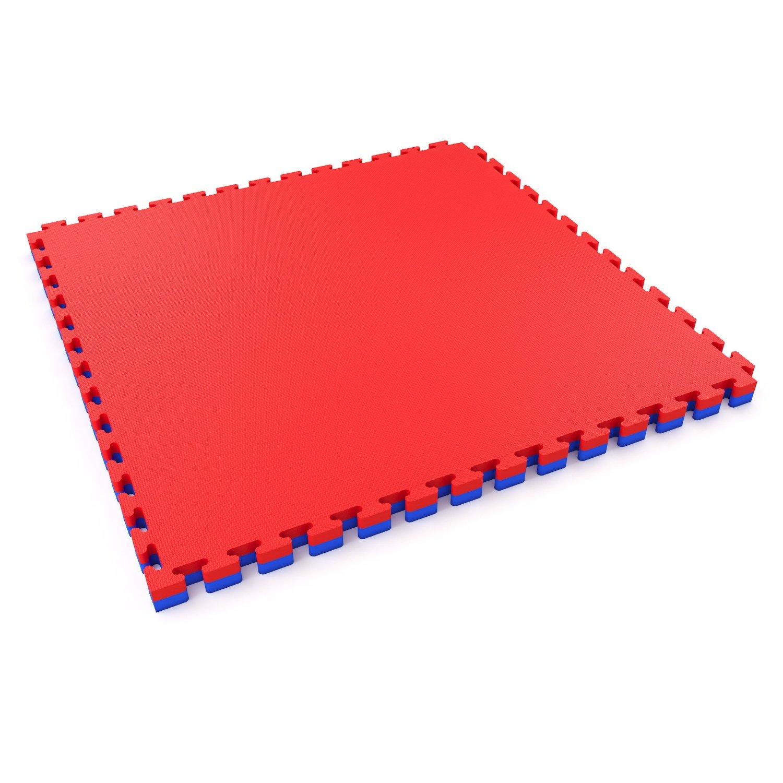 Blue Red Mat