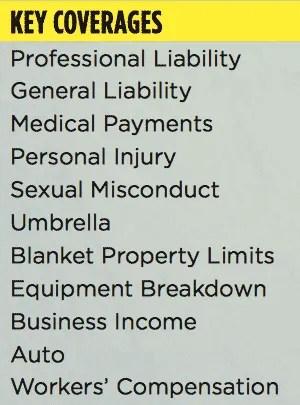 martial arts school liability coverages