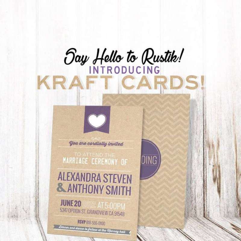 Design Studio Kraft Cards - FREE Shipping Included