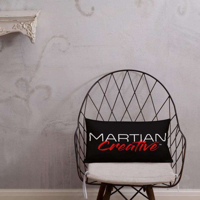 Martian Creative Premium Pillow