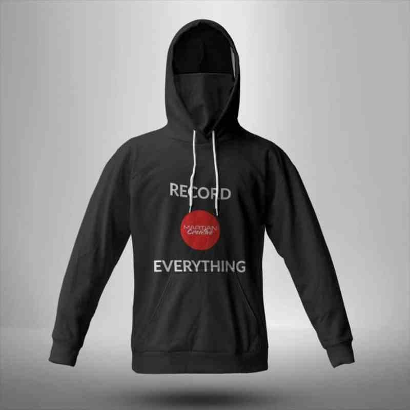 Redord Everything Bandana Hoodie