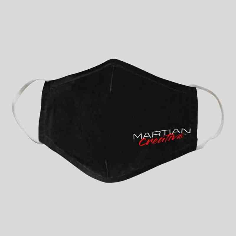 Martian Creative™ Nose Fit Face Mask with Filter