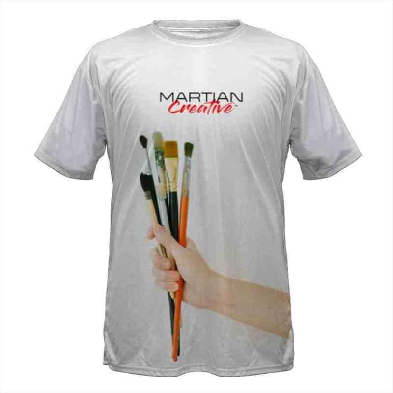 Martian Creative™ Ready To Paint T-Shirt
