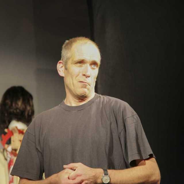 Martin Menner in: Casting König Richard III