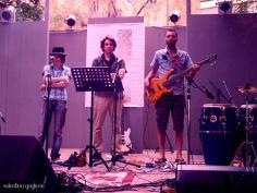Live con Memorie dal SottoSuono @ Bologna in Lettere 2013 - Circolo Arci Guernelli, maggio 2013