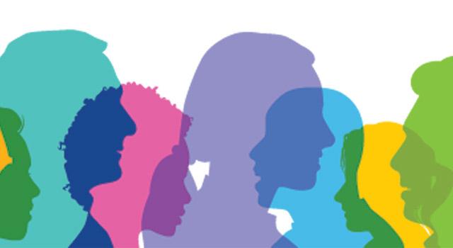 People profile colored