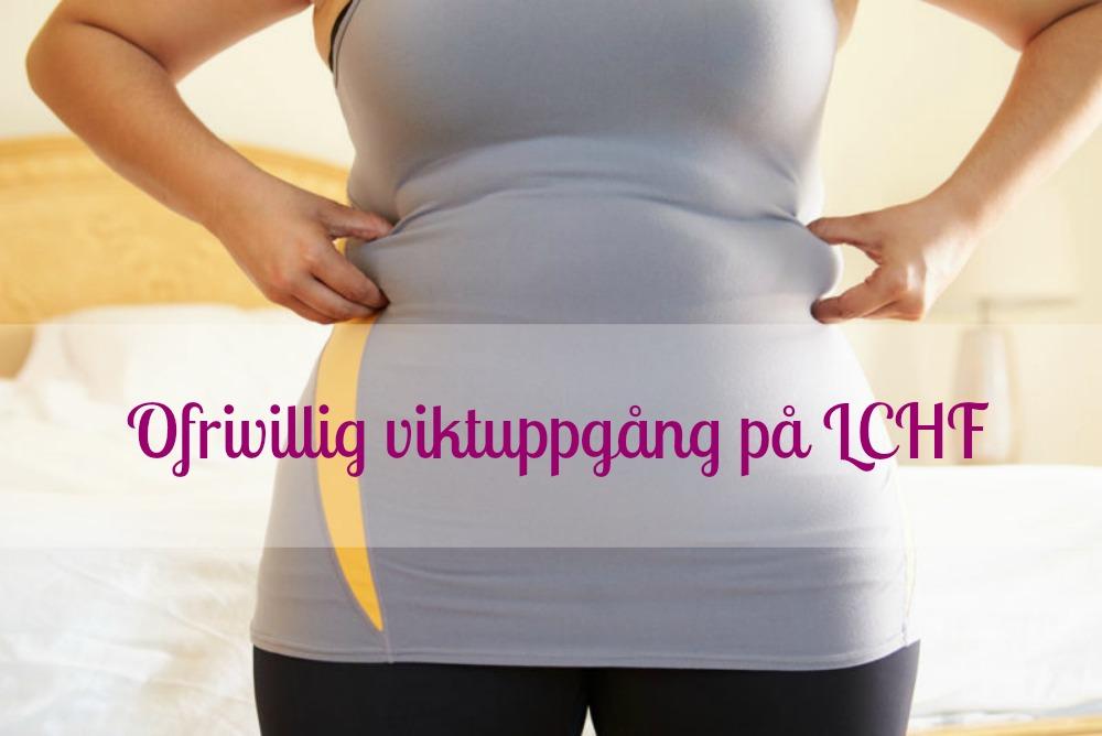 gå upp i vikt med lchf