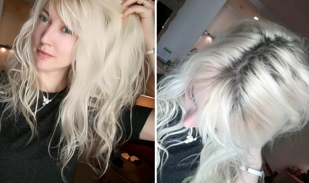 oljeinpackning torrt hår