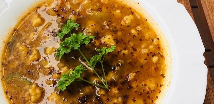 Falošná guľášová polievka