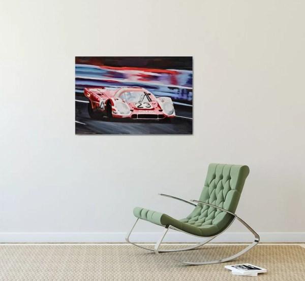 Porsche 917 Fine Art Painting and Prints