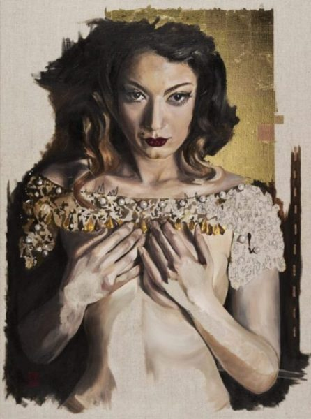 burlesque painting and art prints