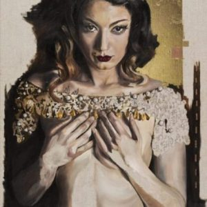 Mad Cat burlesque painting and ltd edition fine art prints