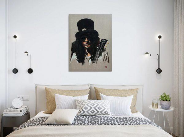 Slash of Guns n Roses art