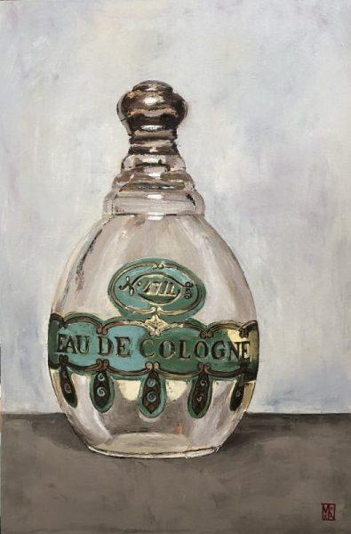 Memories 4711 Perfume bottle wall art